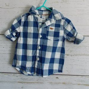 Blue Buffalo Plaid Button-down shirt